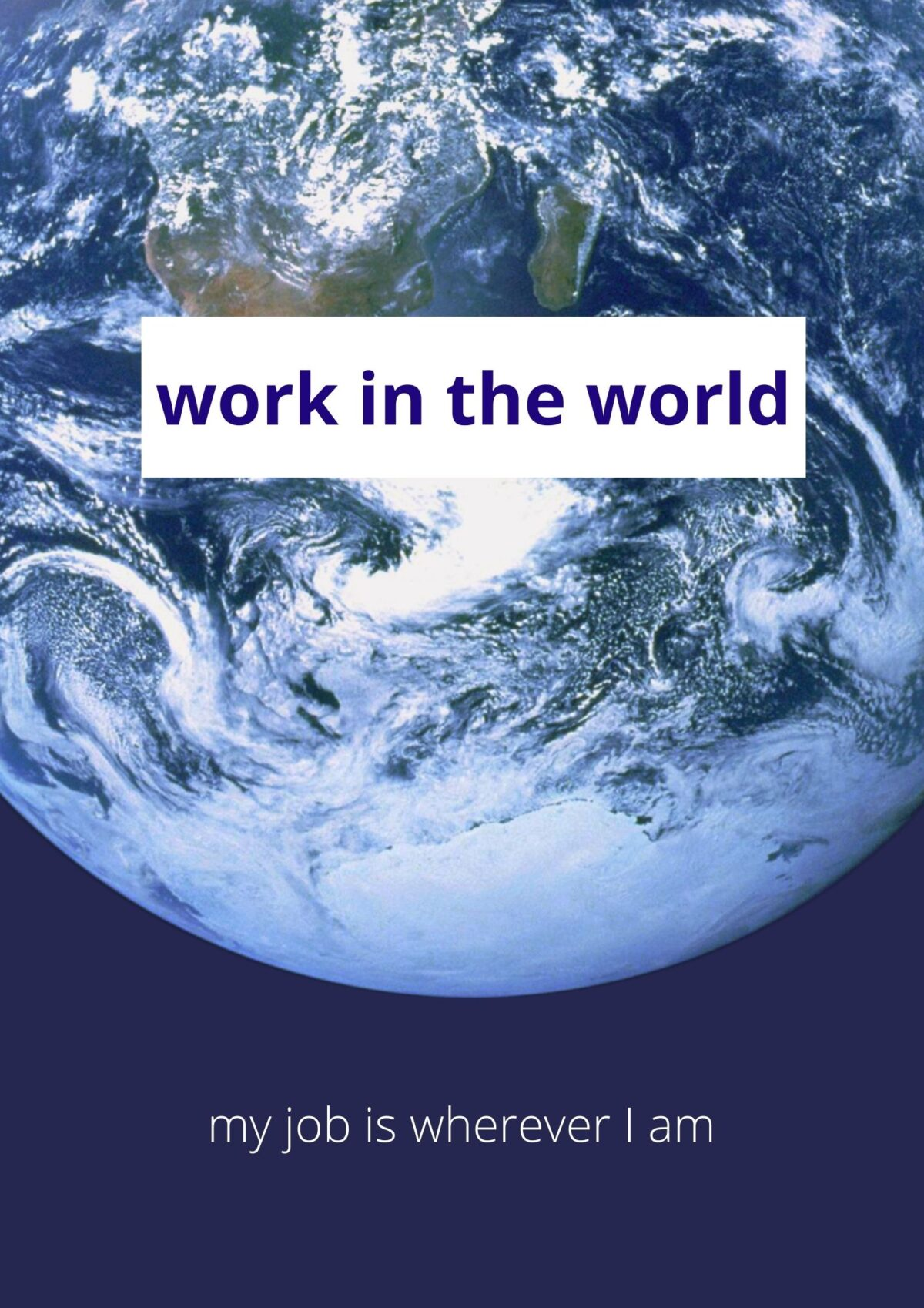 work in the world